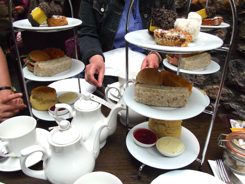 afternoon tea edinburgh castle