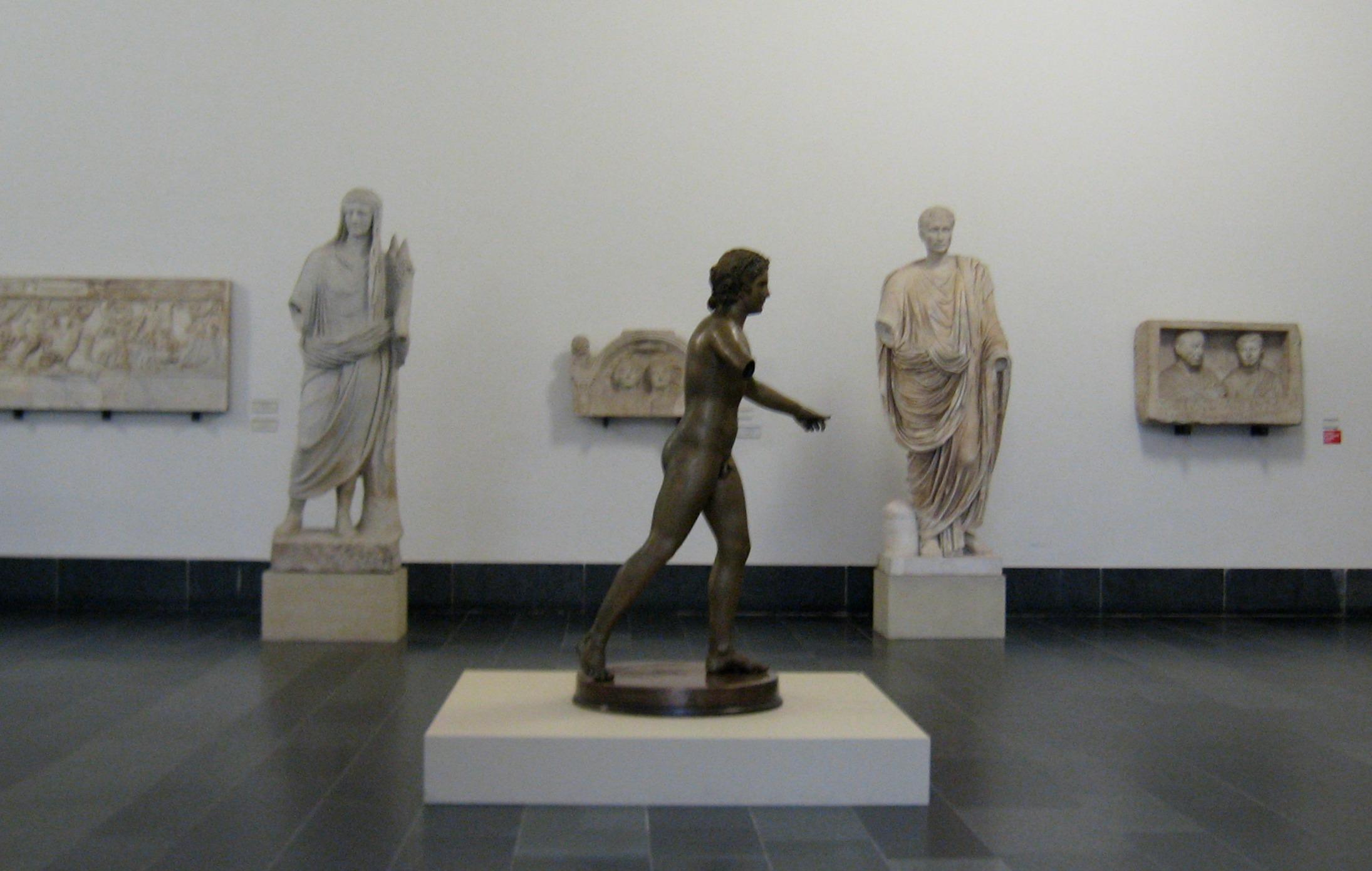pergamon statues