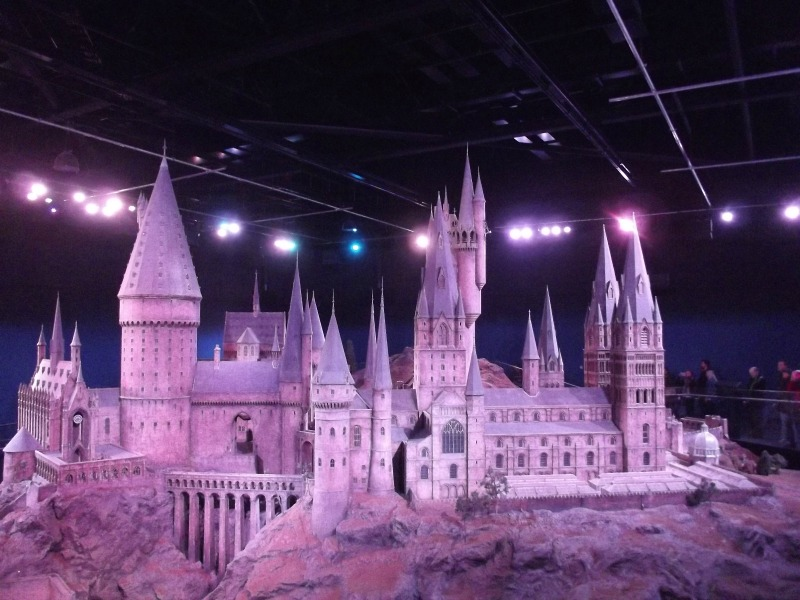 travel blogger outtakes harry potter studio
