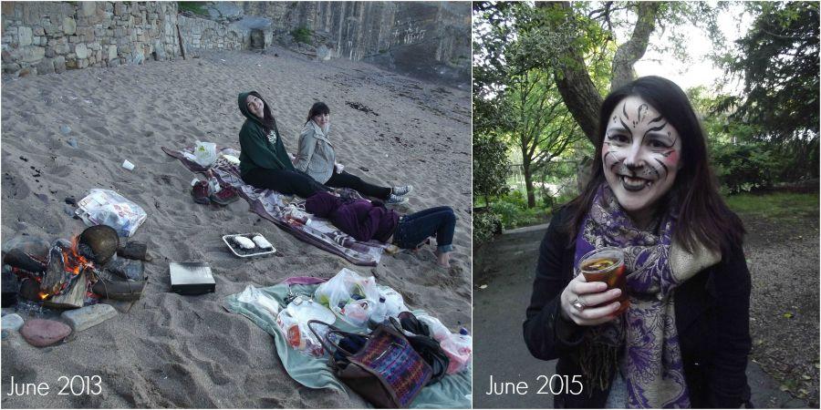 summer scotland Collage