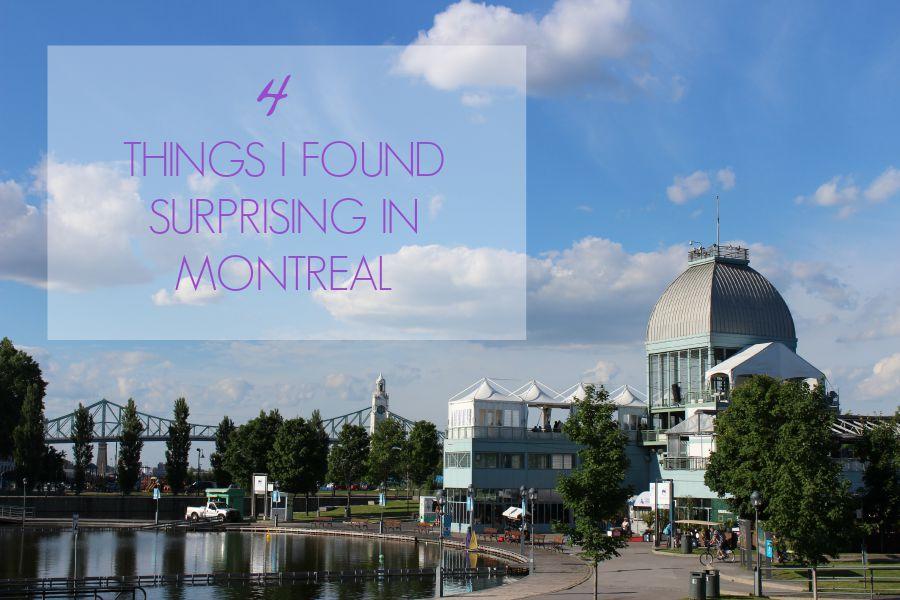 surprising montreal