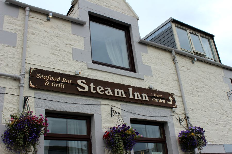 steam inn mallaig