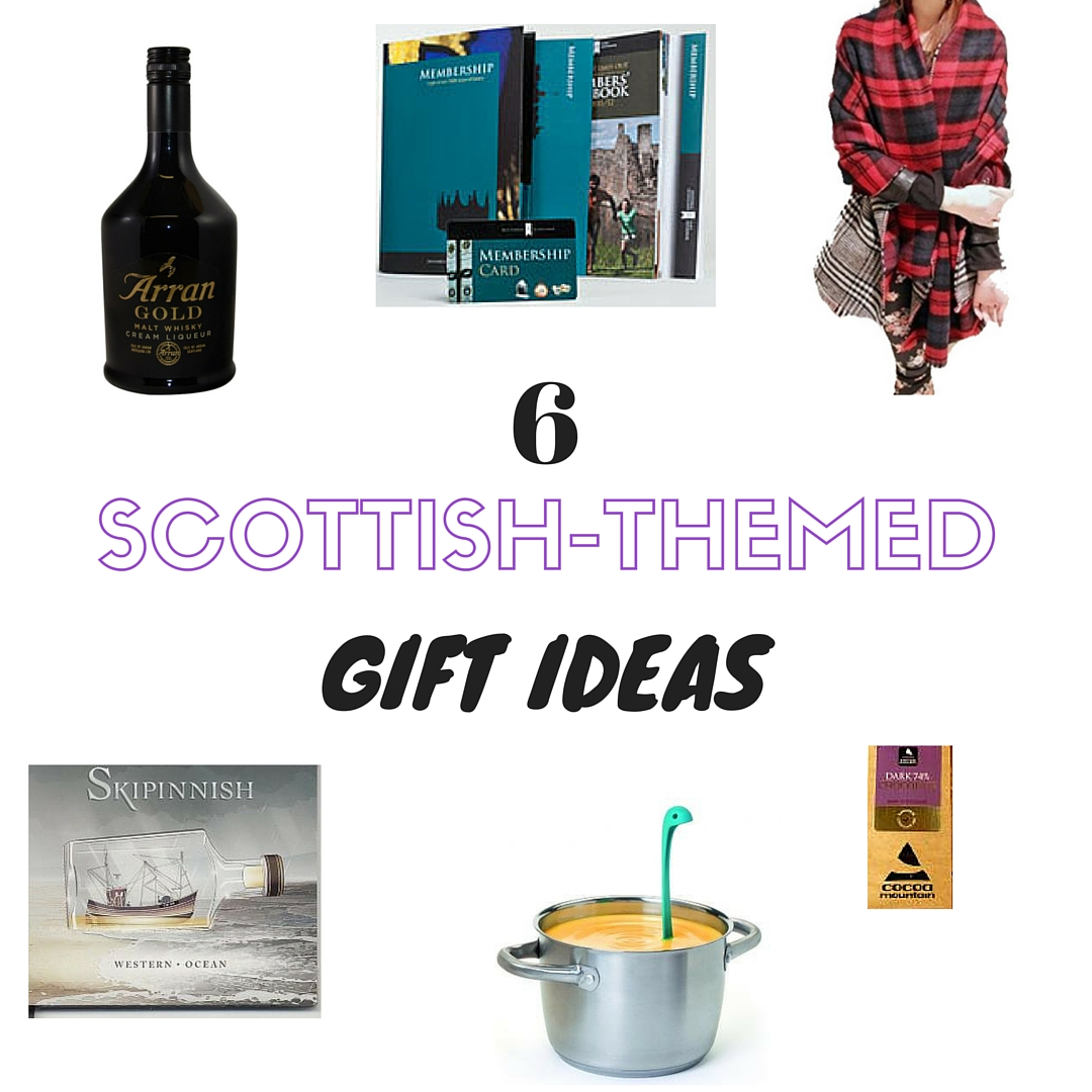 6 scottish themed gift ideas