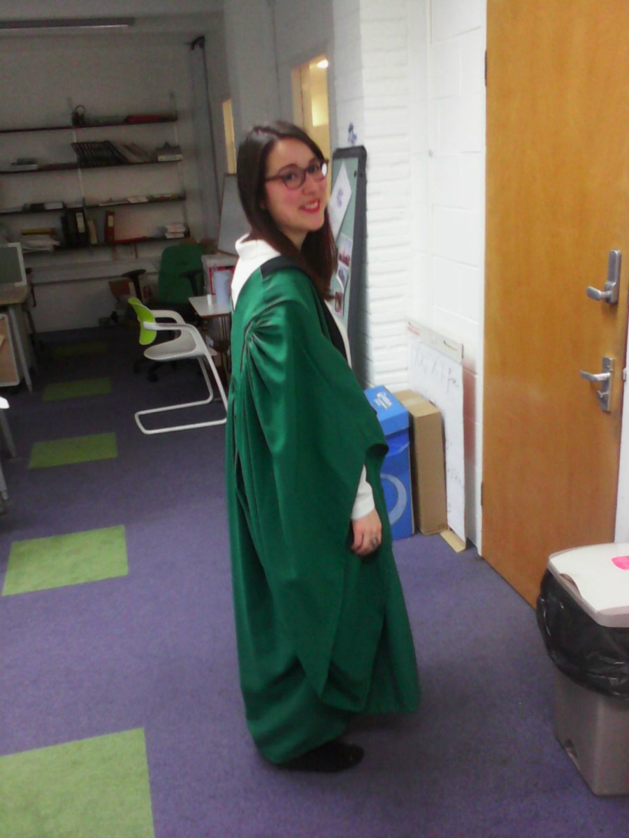 slytherin gown