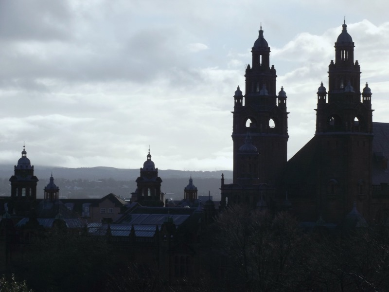 glasgow west end skyline