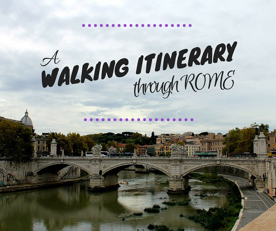 walking itinerary