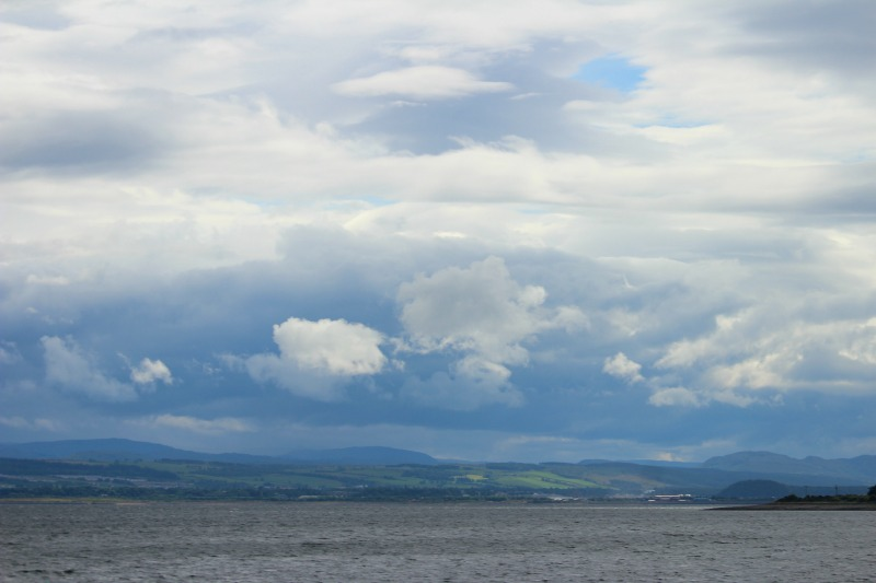 dolphins scotland sky
