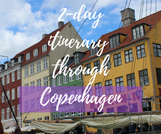 2 day itinerary through copenhagen