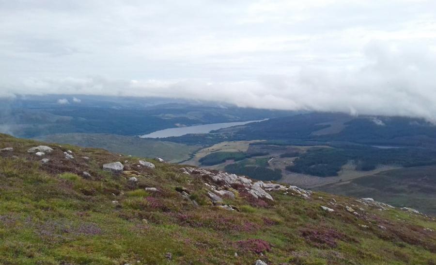 hiking schiehallion view