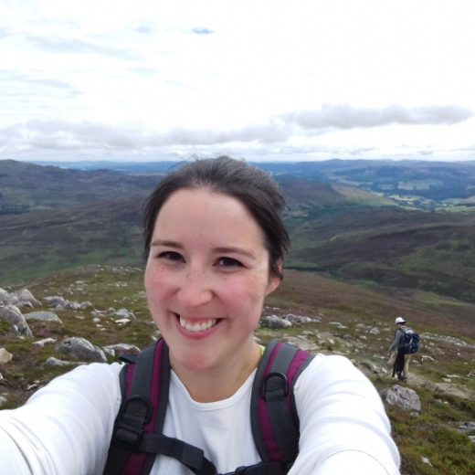 hiking shiehallion selfie