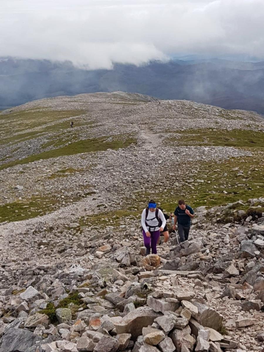 hiking schiehallion boulders