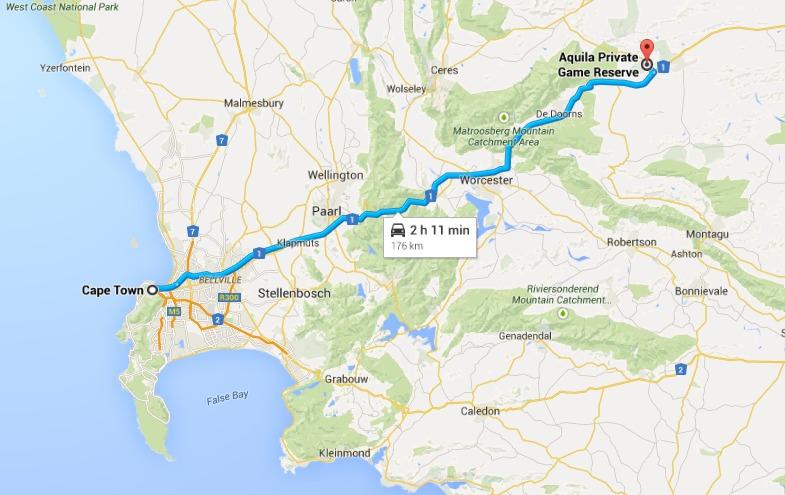 map aquila