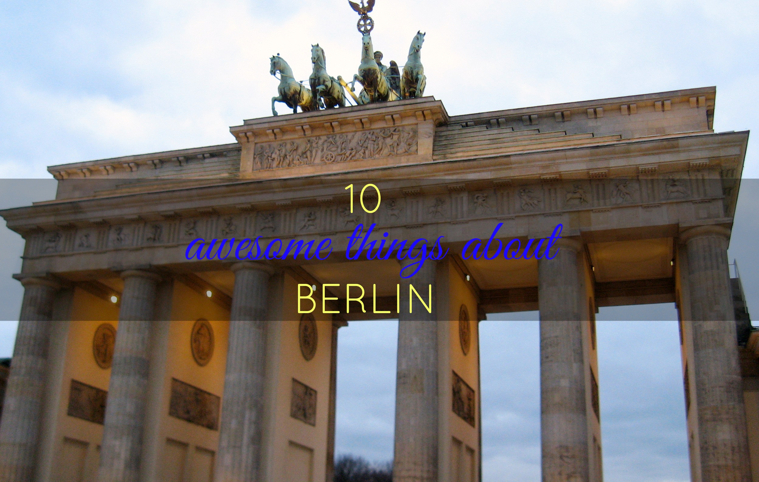10 awesome things berlin