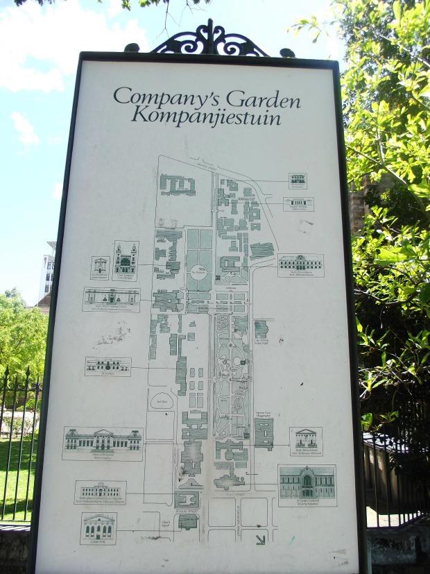 company's garden