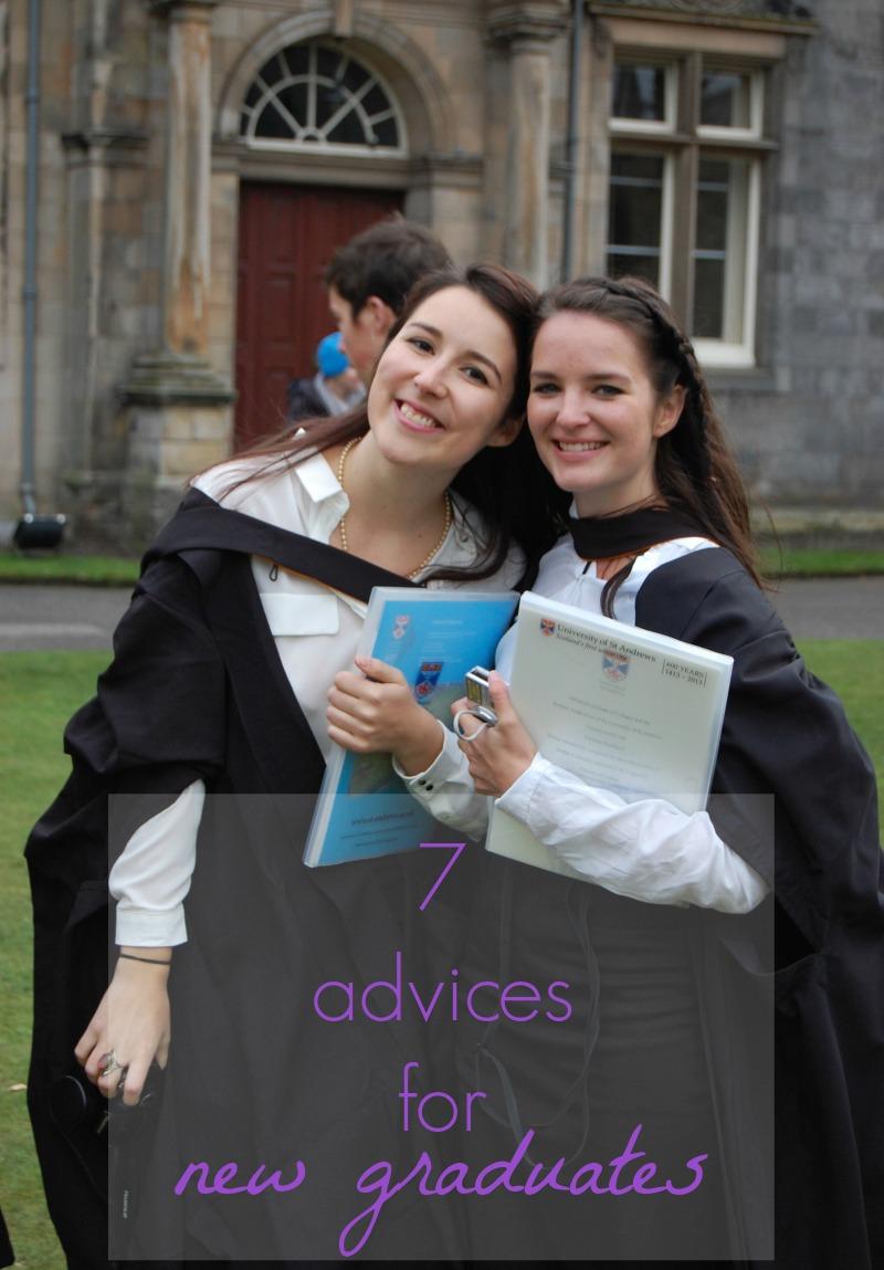 7 advices new graduates