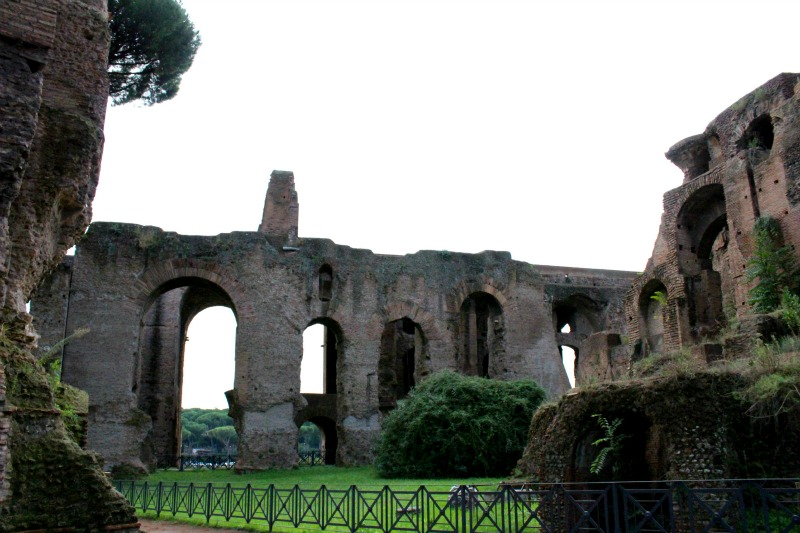 up the palatine hill