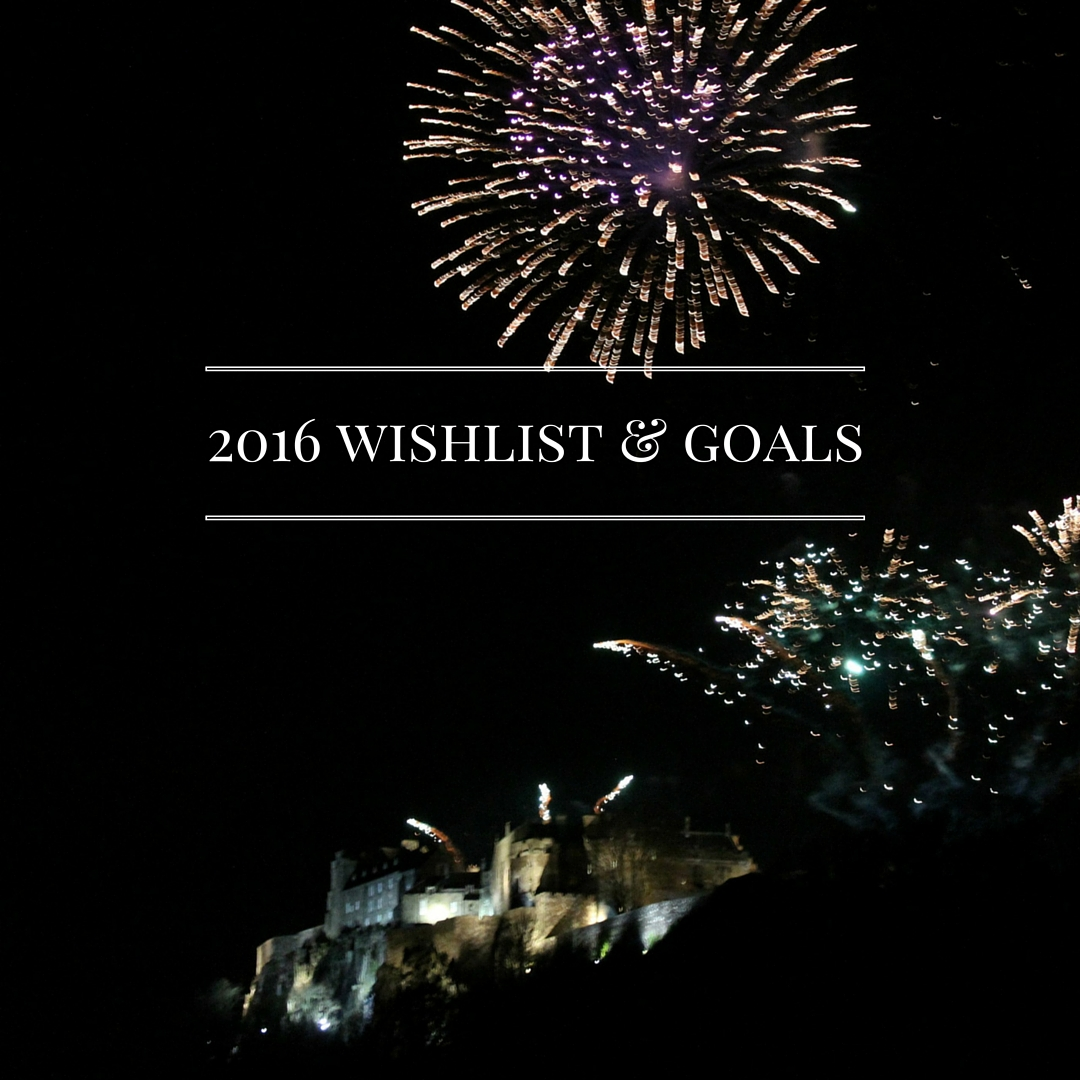 2016Wishlist & Plans