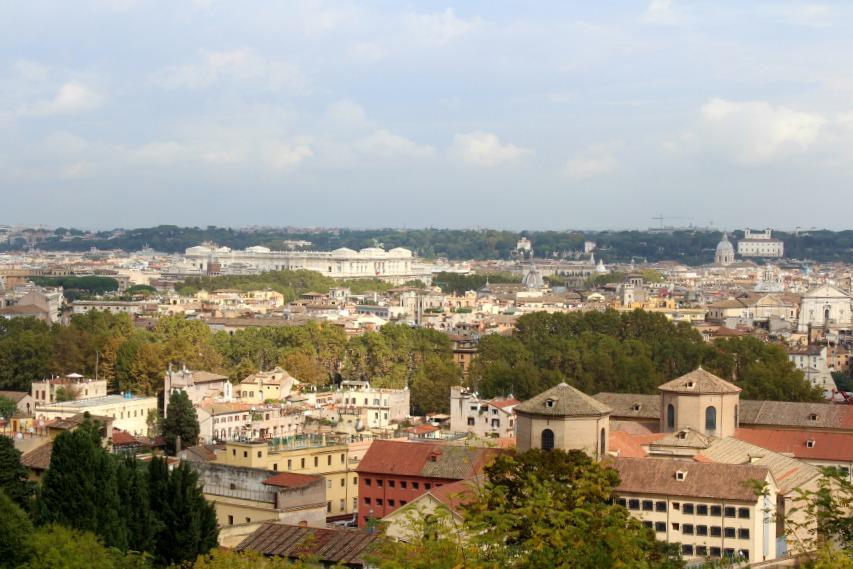 Trastevere View Piazza Garibaldi