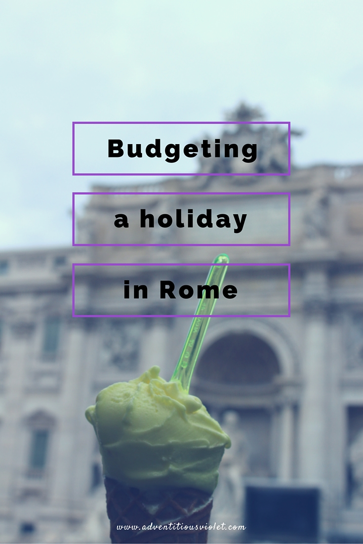 budgeting for a holiday in Rome