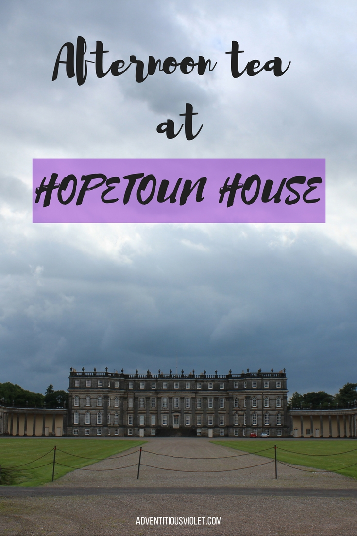 afternoon tea at hopetoun