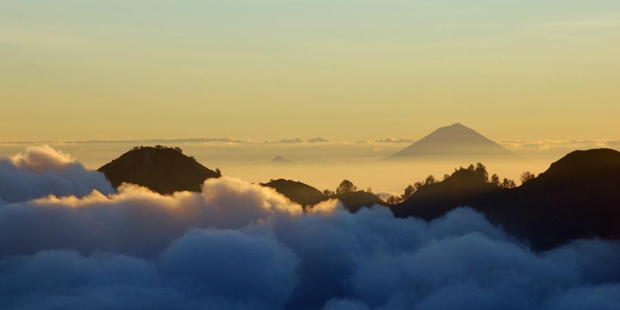 bali hiking view