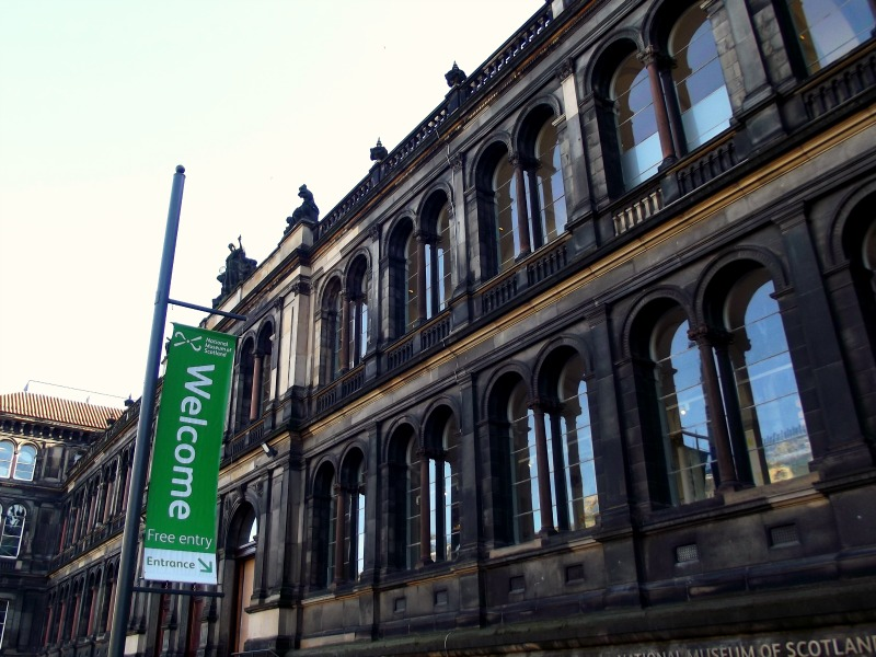 National Museum of Scotland in Edinburgh