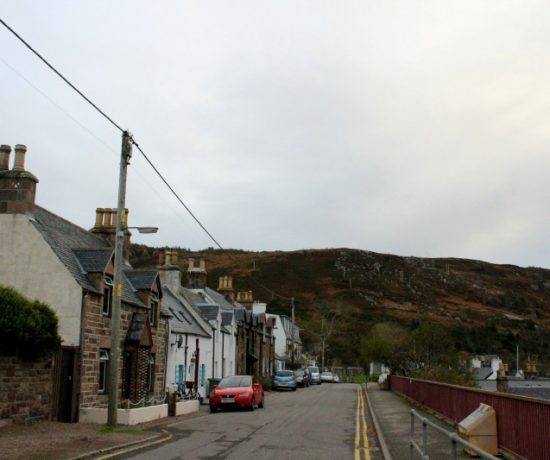 travel blogger outtakes getting lost in ullapool