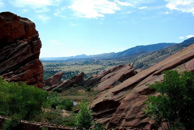 red rocks colorado denver