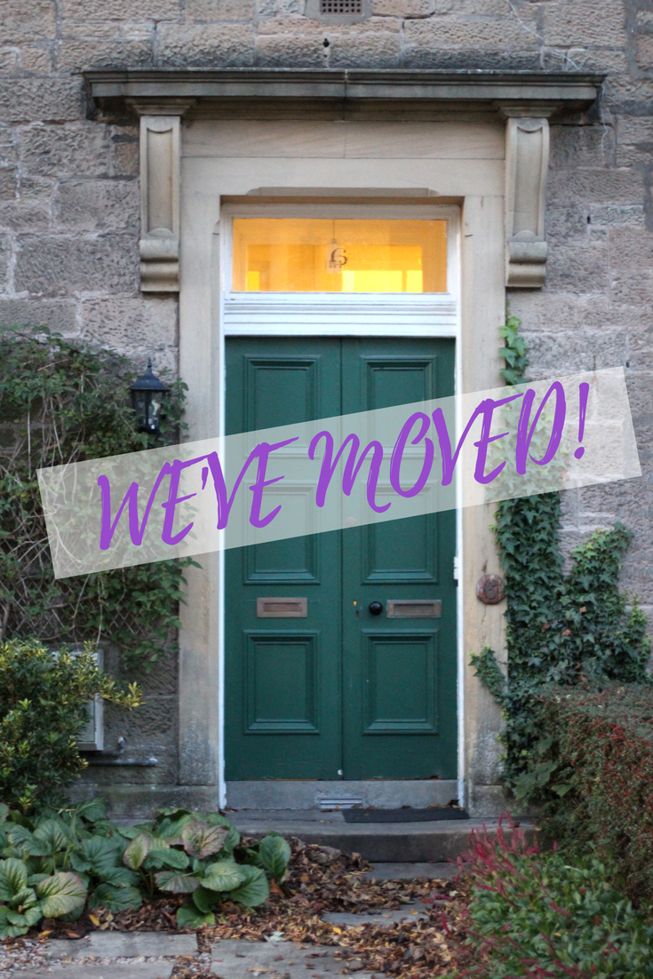 we bought a flat - we've moved