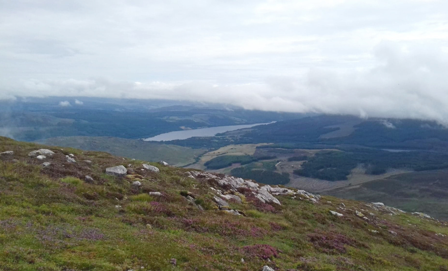 hiking schiehallion view