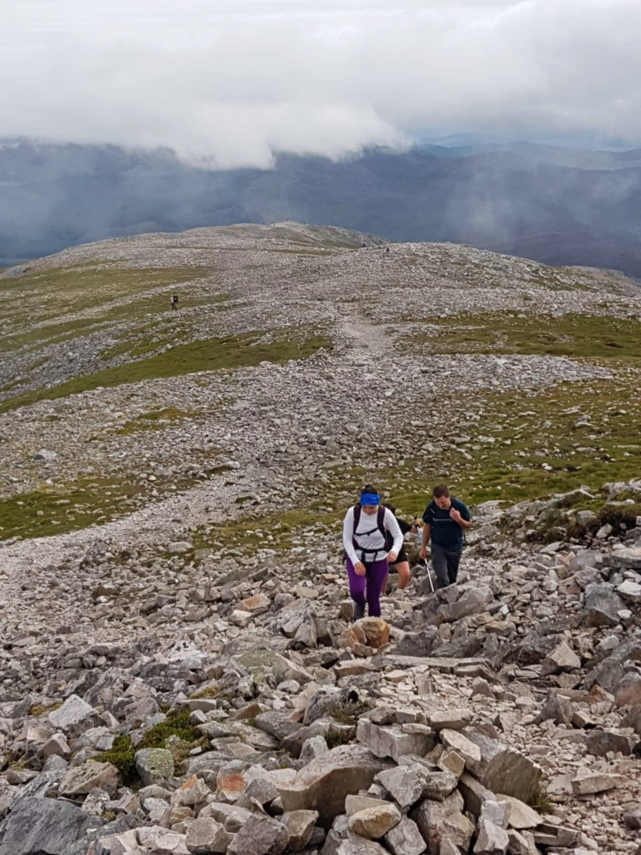 hiking schiehallion boulders