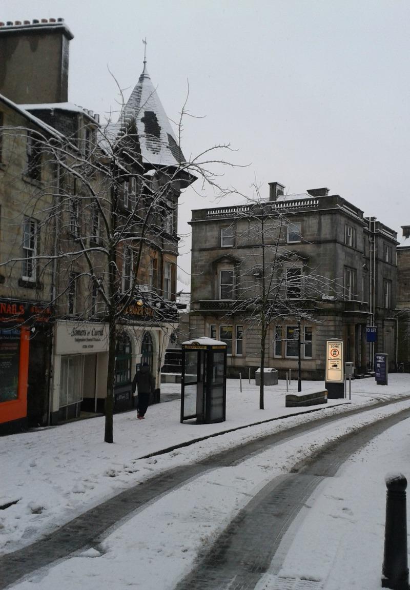 snow march