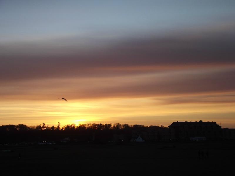 sunset st andrews